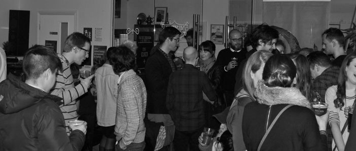 HeadStuff Launch party, HeadStuff Shop, HeadStuff Podcast, Block T, Alan Bennett, Graham Connors, happy smiley people - HeadStuff.org
