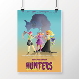 Mongolian Death Worm Hunters Poster for Sexy Beasts on HPN